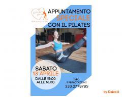 Appuntamento speciale con il pilates