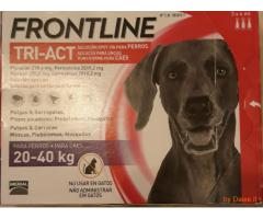 Frontline tri-act cani 5-10kg nuovo