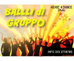 CORSO DI BALLI DI GRUPPO A #ROMA