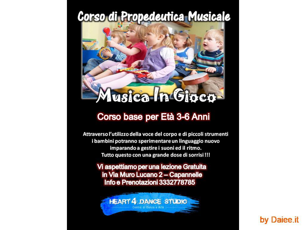 LABORATORIO MUSICALE A ROMA