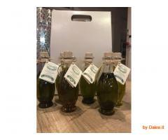 Olio extra vergine aromatizzato per condimento