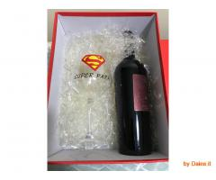 Calice vino Super Papà