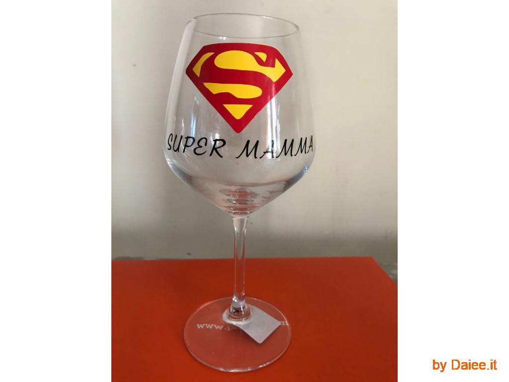 Calice vino Super Mamma