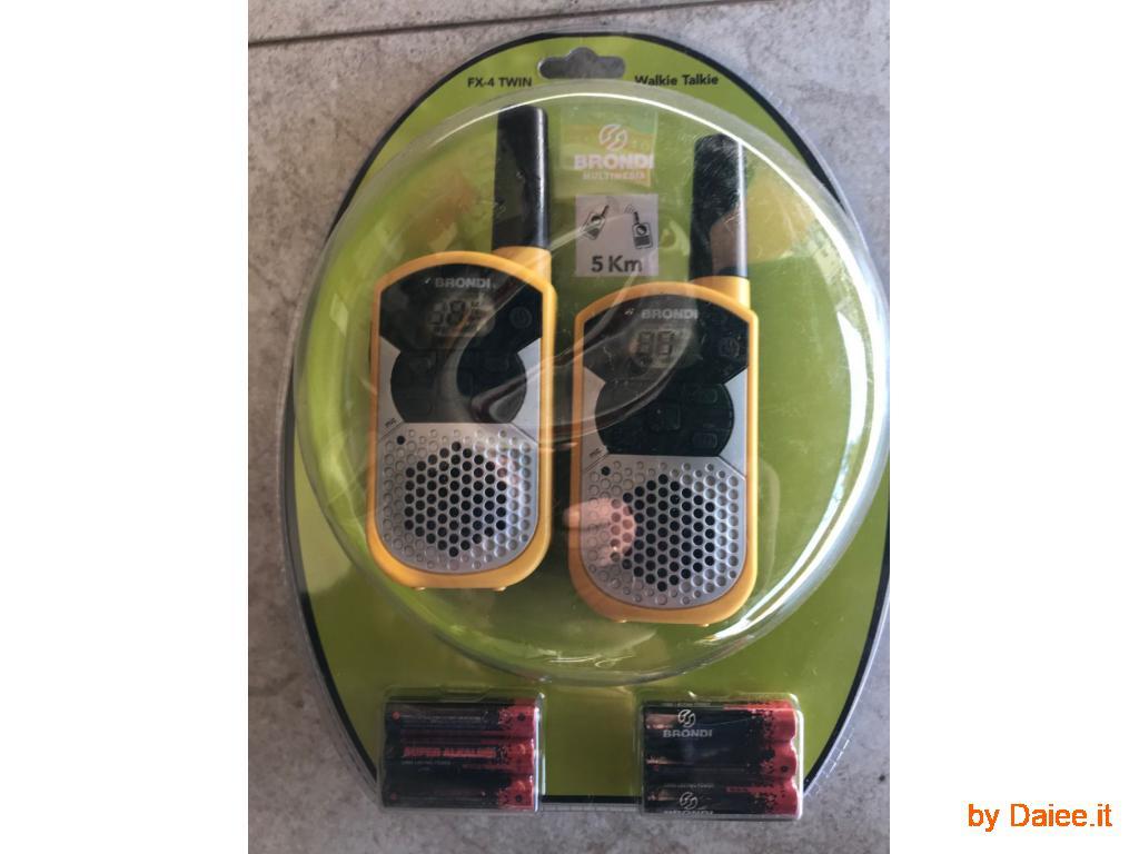 Coppia walkie-talkie
