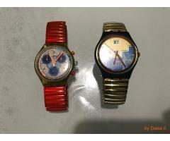 Due orologi Swatch