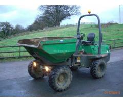 Terex BENFORD 3001 - 2007 mini dumper