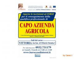 Corso Capo Azienda Agricola