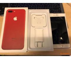 Apple iPhone 7/7 Plus 128Gb speciale Edizione (prodotto rosso) Sbloccato