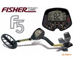 METAL DETECTOR FISHER F 5