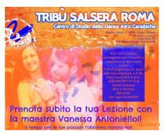 LEZIONI PRIVATE DI SALSA A ROMA