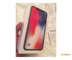 Apple iPhone X 256GB - Space Grey (Unlocked) Smartphone is 500 Euro