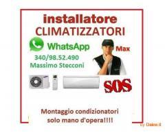 INSTALLAZIONE CLIMATIZZATORI SU ARDEA E LIMITROFI