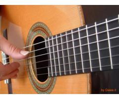 Lezioni di chitarra anche a domicilio