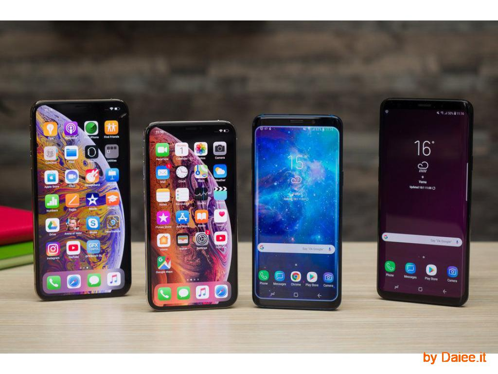 Samsung S9/S9 Plus/Note 9, Apple iPhone XS/XS Max, Huawei, SONY €255 EUR