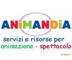 Animandia.it:articoli per animazione,accessori per feste,spettacoli