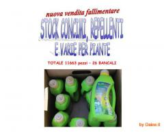 Stock concimi e repellenti 11663 pz
